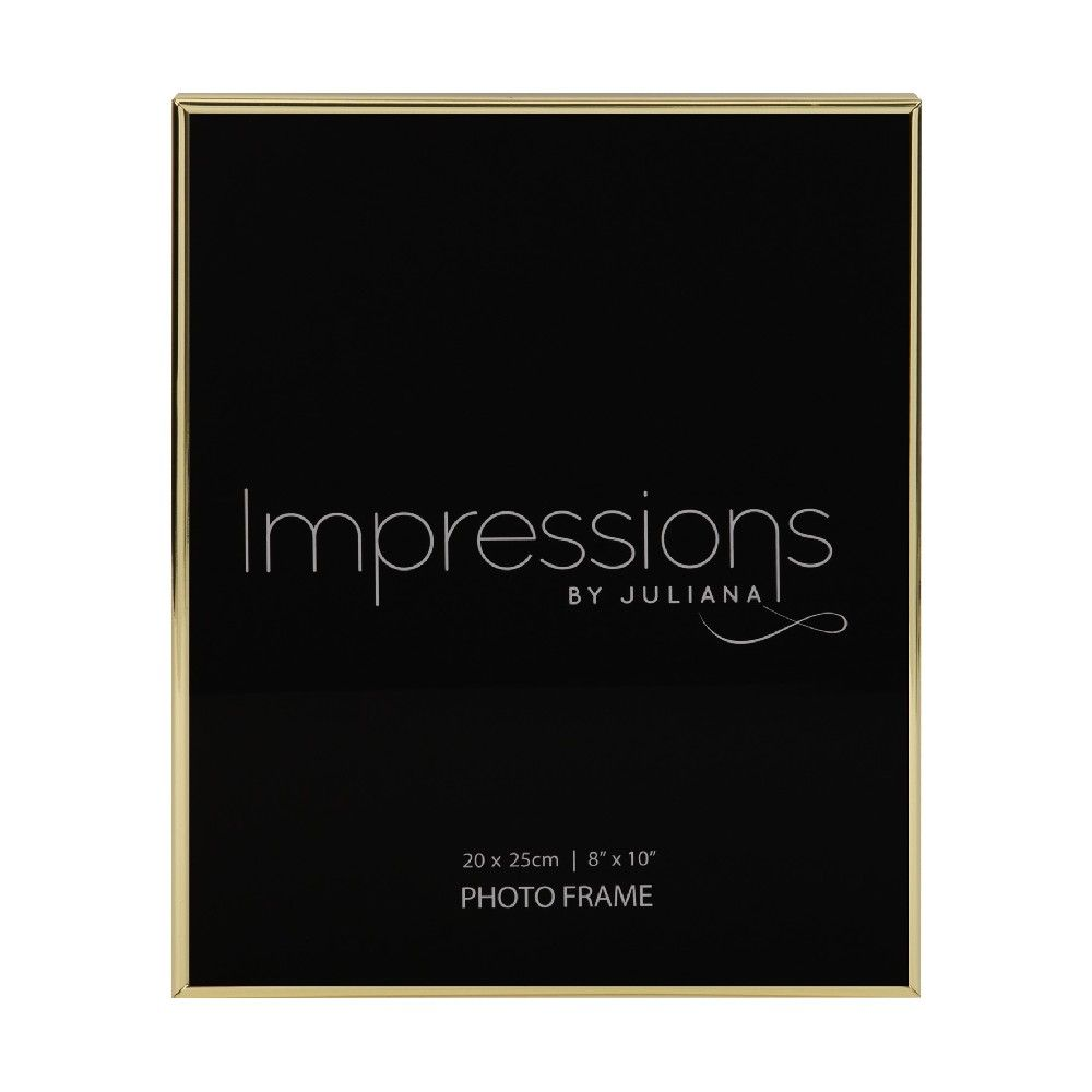 Brass Plated Photo Frame 8 x 10