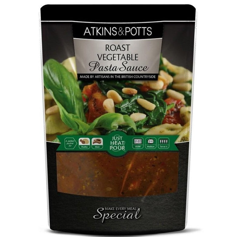 Atkins & Potts Roast Vegetable Pasta Sauce