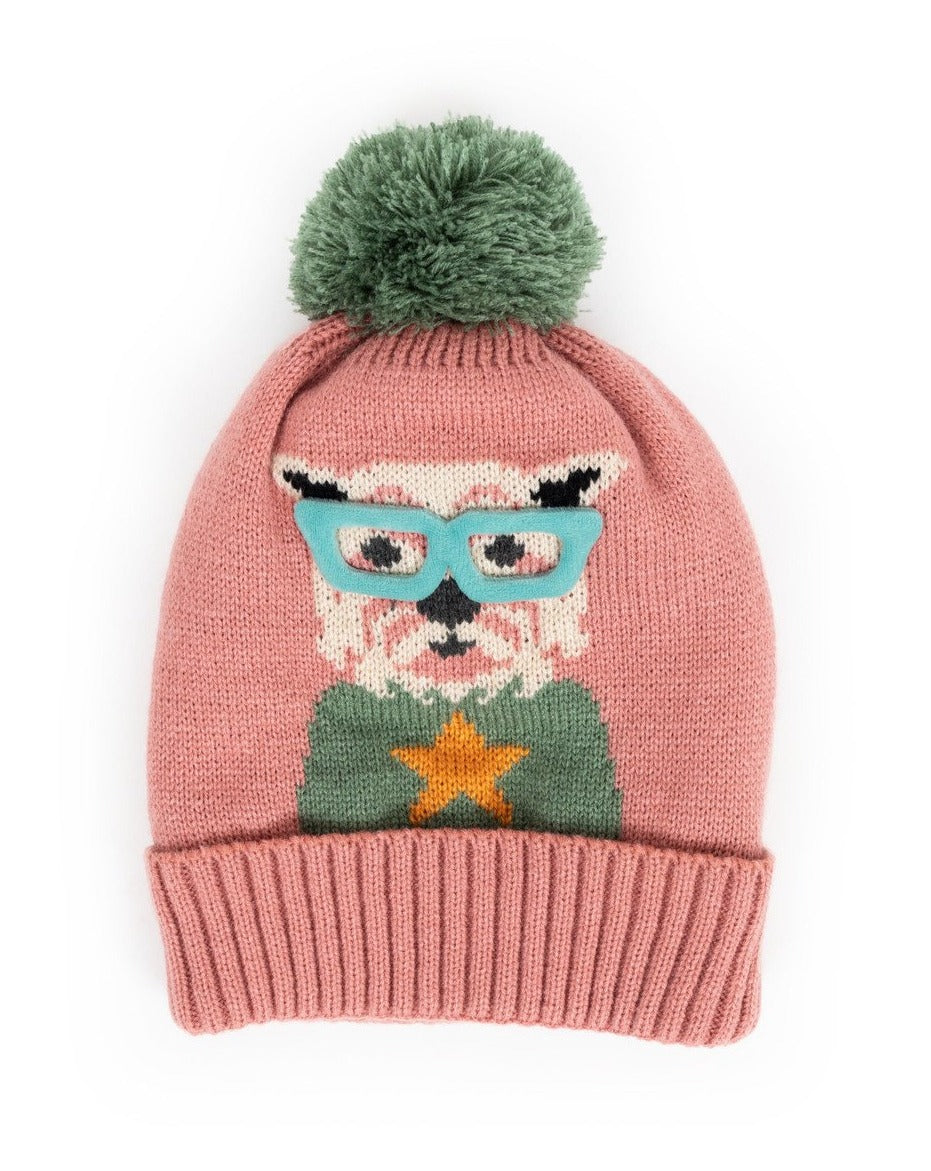 Ladies Cosy Westie Hat - Candy