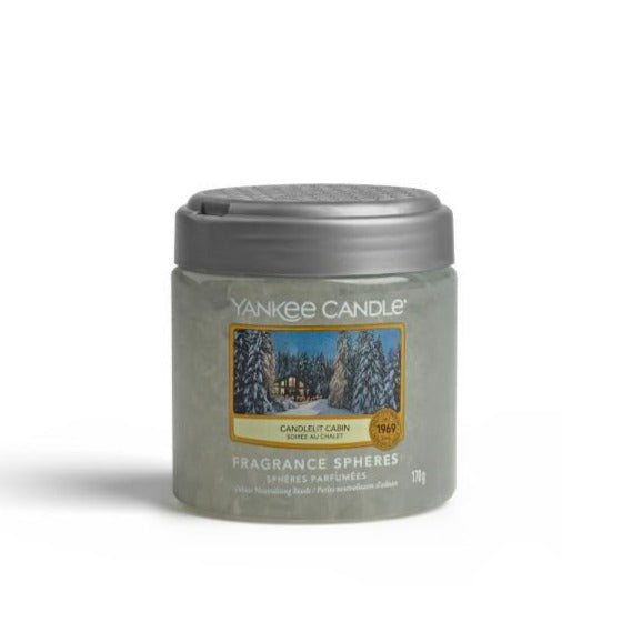 YANKEE FRAGRANCE SPHERE - Candlelit Cabin