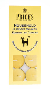 Price's Household Tealights Pack of 10