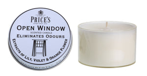 Price's Open Window Tin