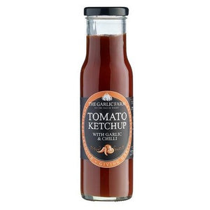 Tomato Ketchup with Garlic & Chilli