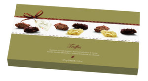 Milk,White & Dark Chocolate Flaked Truffles 375g
