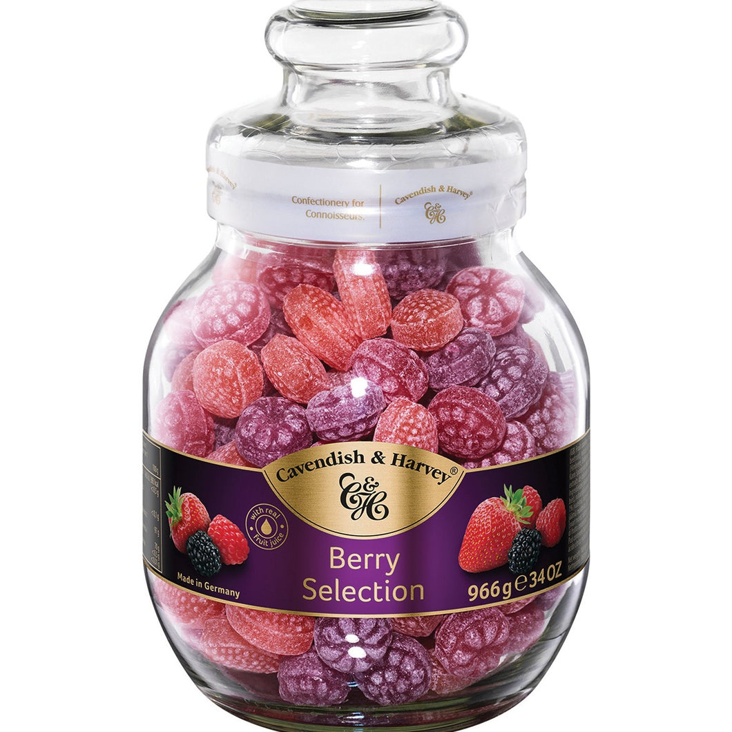 Cavendish & Harvey Berry Candies 966g