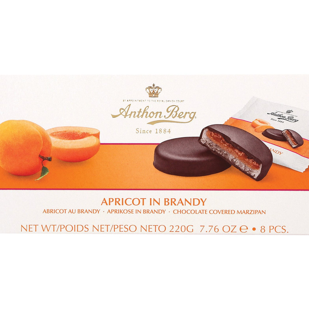 Anthon Berg Apricot in Brandy Marzipan