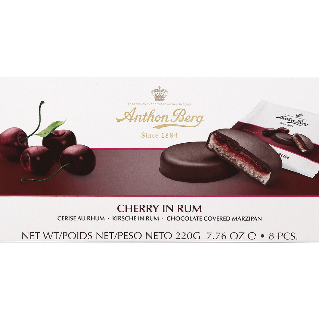 Anthon Berg Cherry in Rum Marzipan