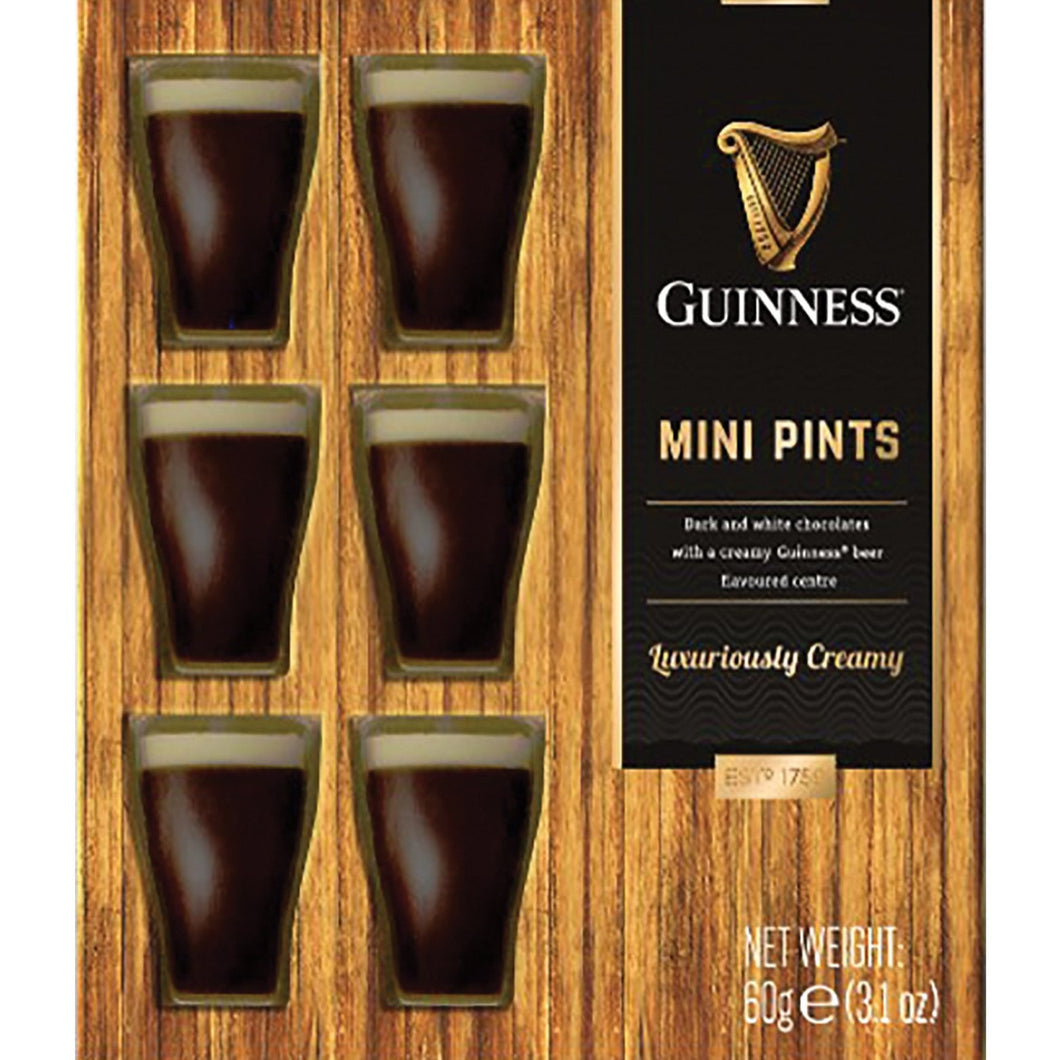 Guinness 9 Mini Chocolate Pints