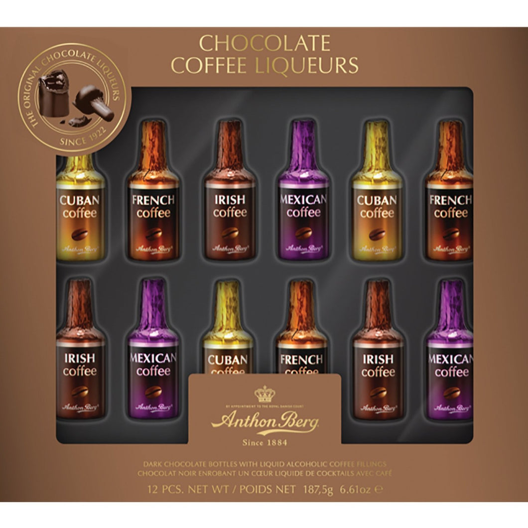 Anthon Berg Coffee Liqueurs 12 Pieces