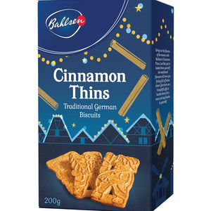 Bahlsen Cinnamon Thins 200g