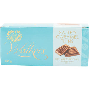 Walkers Milk Chocolate Salted Caramel Thins 135g