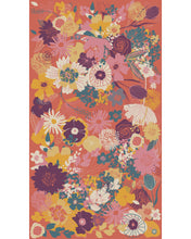 Load image into Gallery viewer, Floral Printed Scarf Tangerine