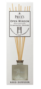 Price's Reed Diffuser - Open Window