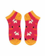 Load image into Gallery viewer, Trainer Socks - Westie & Sausage Dog