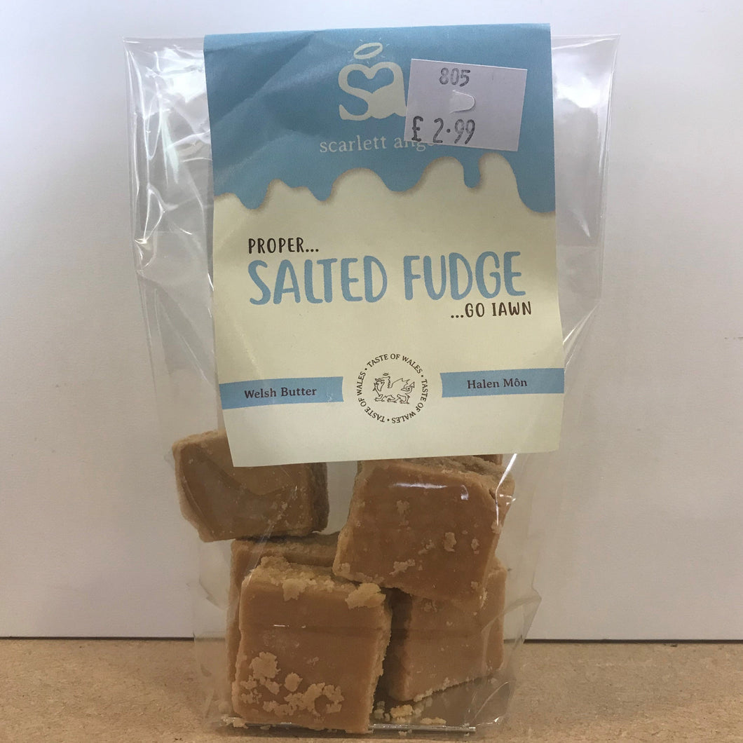 Salted Fudge 100g
