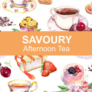 Savoury Afternoon Tea for 2 People