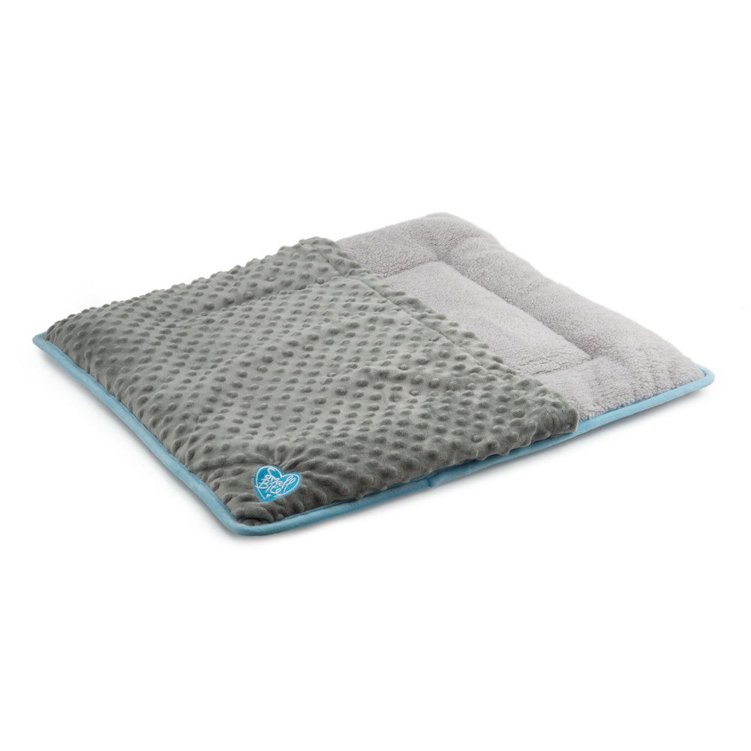 Flat Pad Snuggle Pouch Blue