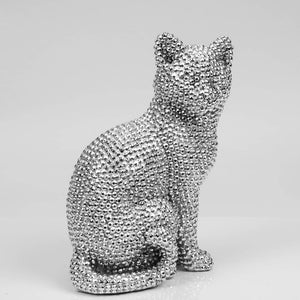 Diamante Cat Figurine