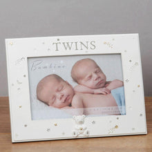 Load image into Gallery viewer, Resin Twins Photo Frame 6x4""