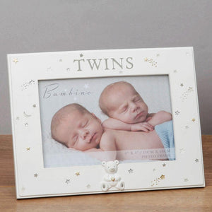 Resin Twins Photo Frame 6x4""