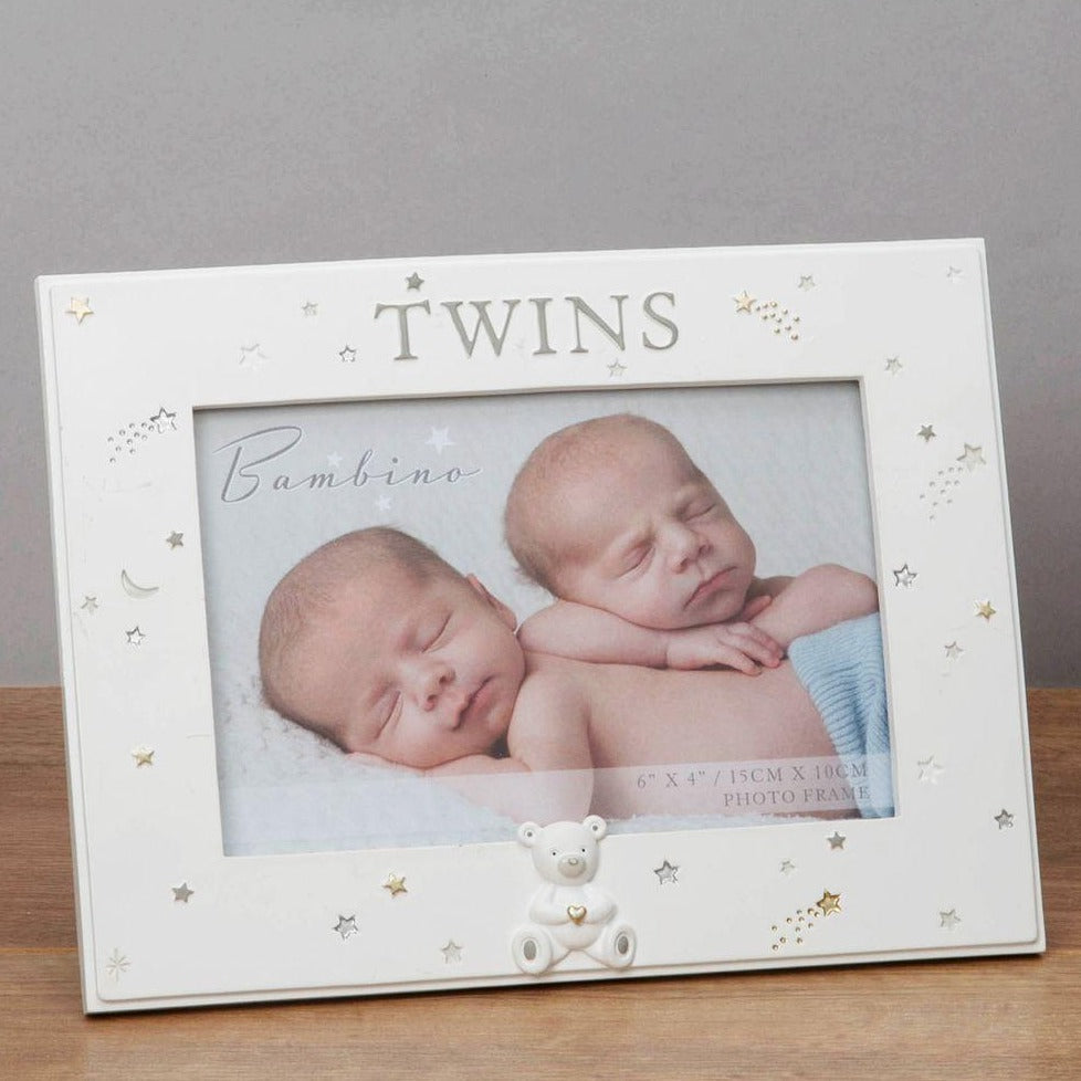 Resin Twins Photo Frame 6x4