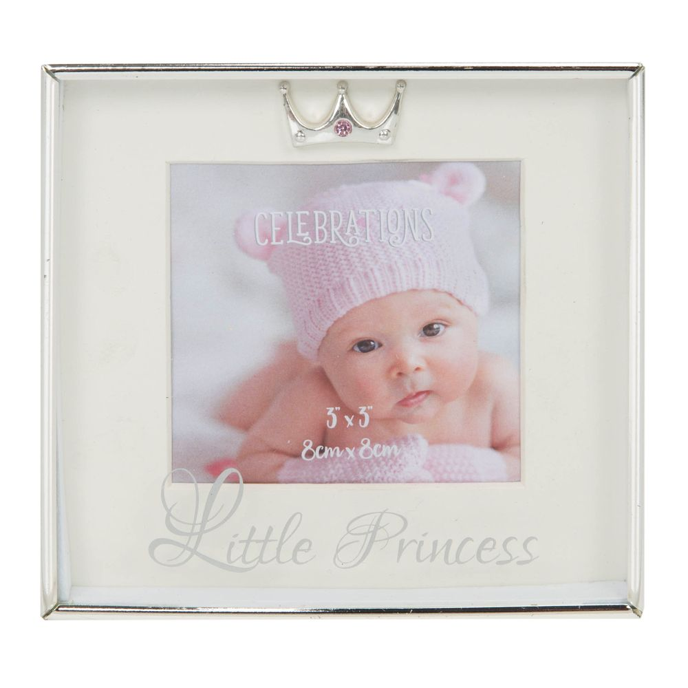 Silver-Plated Box Frame 3x3