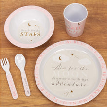 Load image into Gallery viewer, Bambino 5 Piece Melamine Set Pink