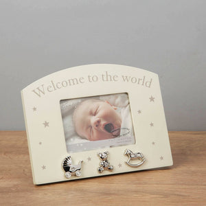Welcome to the World Frame 4x3""