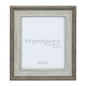 Grey-Washed Effect Photo Frame 8x10""