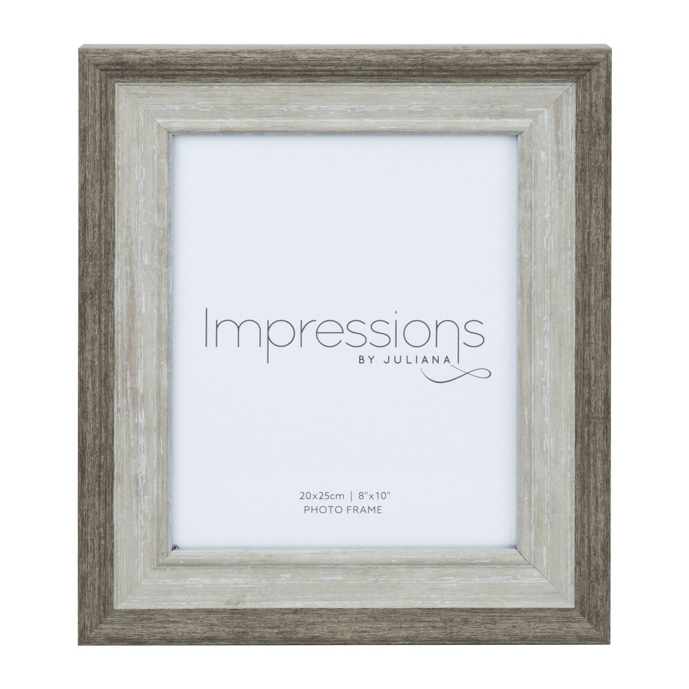 Grey-Washed Effect Photo Frame 8x10