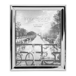 Nickel Plated Photo Frame 8x10""