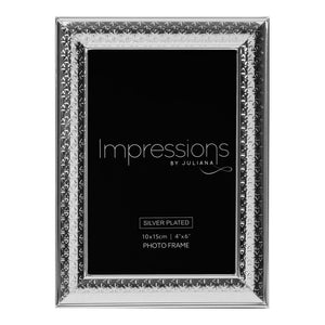 Triangle Print Design Photo Frame 4x6""