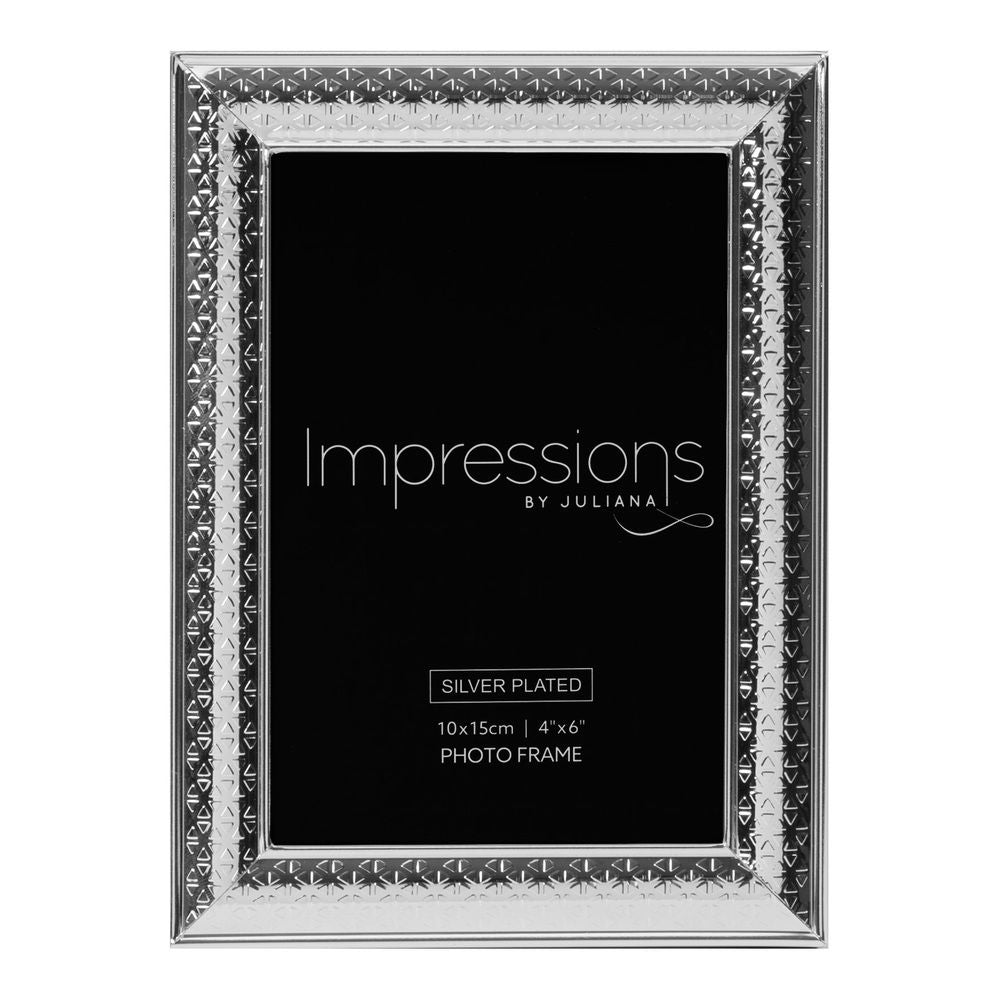 Triangle Print Design Photo Frame 4x6
