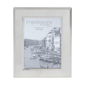 Nickel Plated Steel Photo Frame 5x7""