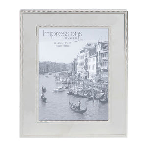 Nickel Plated Steel Photo Frame 8x10""