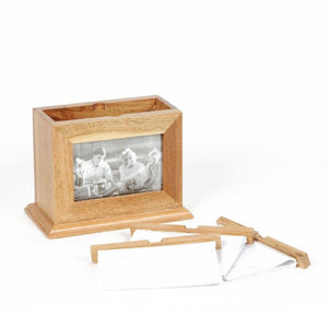 Oak Effect Frame Box with Pull Out Albums