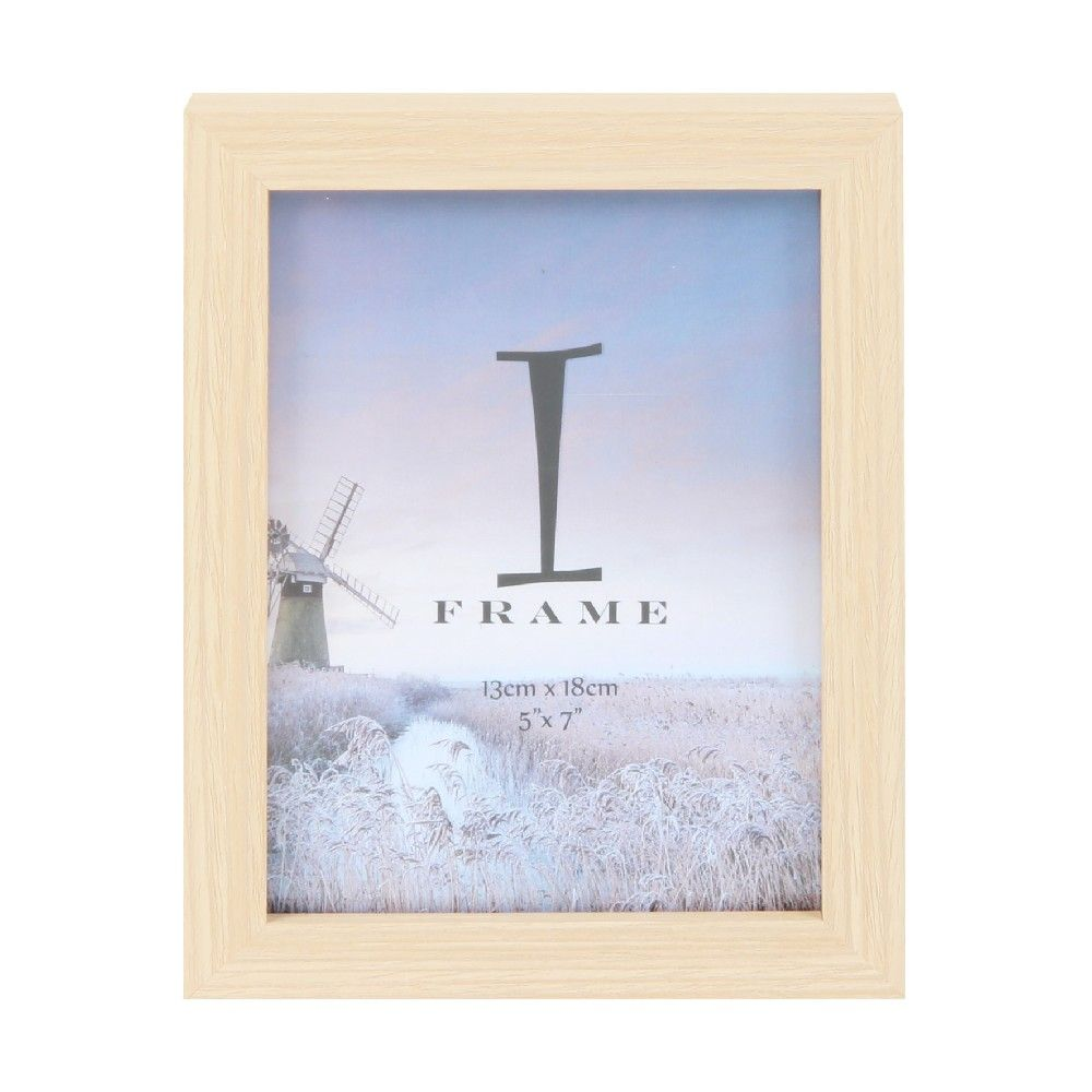 iFrame Wood Finish Photoframe 5x7