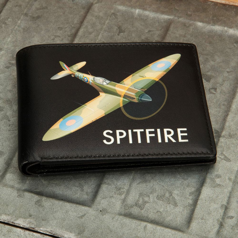 Heritage Leather Wallet - Spitfire