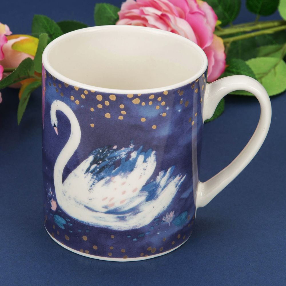 Hello Beautiful Mug by Swan Lake