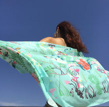 Load image into Gallery viewer, The Secret Garden Shawl - Mint