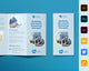 Building Services Company Trifold Brochure Template