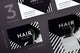 Hair Salon Services Business Card Template