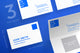 Gallery Minimal Business Card Template