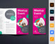 Meetup Event Trifold Brochure Template