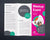 Meetup Event Trifold Brochure Template - Amber Graphics