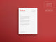 Wellness Letterhead Template