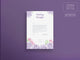 Wedding Hairstyles Letterhead Template