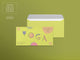 Yoga Studio Envelope Template