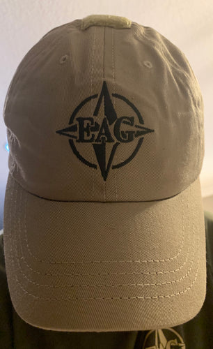 Tan EAG shooters cap