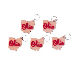 Ohio State Key Chains